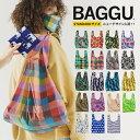 【新柄入荷】 BAGGU バグゥ バグー スタンダード サイズ エコバッグ ナイロン ショッピングバッグ マイバッグ レジ袋 …