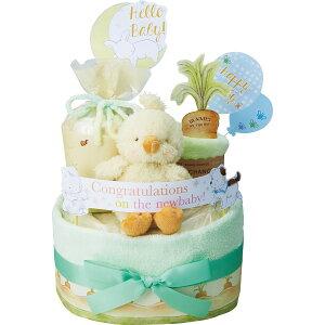 バニーズバイザベイ おむつケーキ2段 ベビー 出産祝い ご出産お祝い ギフト おしゃれ かわいい 送料無料