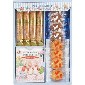 ★最大500円OFFクーポン配布中★ ピーターラビット コーヒー&スイーツギフト 洋菓子 クッキー チーズパイ