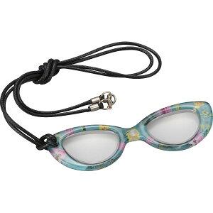 ペンダントルーペ ブラック 黒 40代 50代 60代 70代 おしゃれ メガネ型 めがねモチーフ 拡大鏡 老眼 誕生日プレゼント 還暦 古希 ギフト