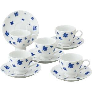 プリンセスローザ コーヒー碗皿5客セット 贈答品 内祝い お返し 出産内祝い 結婚内祝い 快気祝い 法要 香典返し お供え