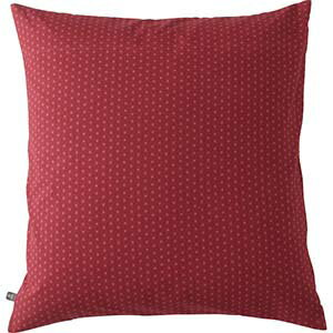 座布団カバー3枚セット(縞市松)両面柄違い 赤 レッド 和柄