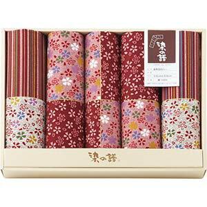 染の譜 座布団カバー5枚セット ピンク 赤 レッド