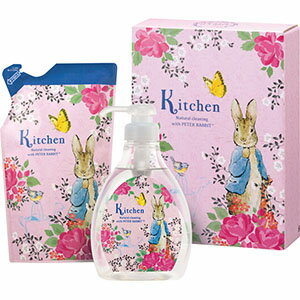 ヤシノミ洗剤 ピーターラビットキッチンギフト 洗剤ギフト