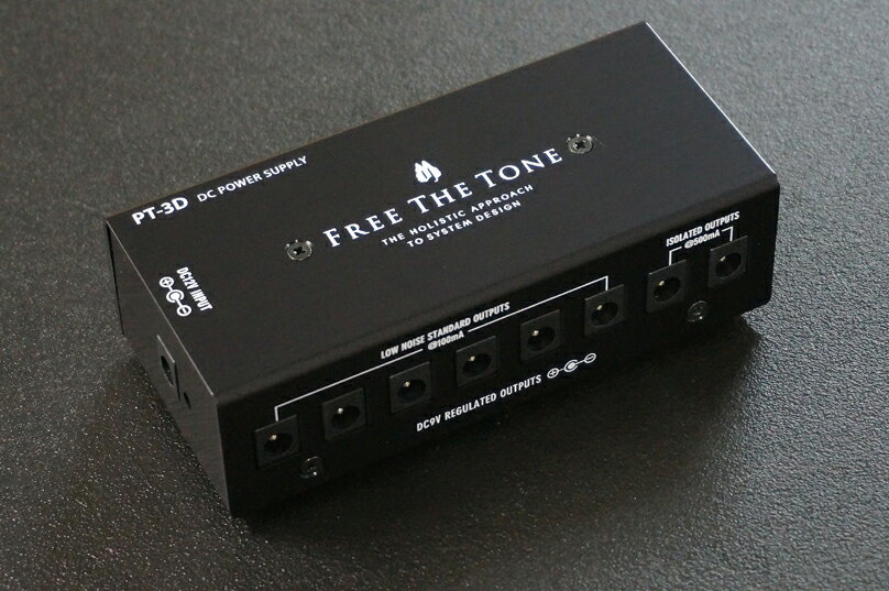 Free The Tone / PT-3D DC POWER SUPPLY