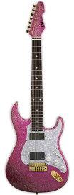 大村孝佳モデル ESP SNAPPER-7 Ohmura Custom / Twinkle Pink [イーエスピー][7弦][エレキギター] [メンテナンス無料] 【受注生産】