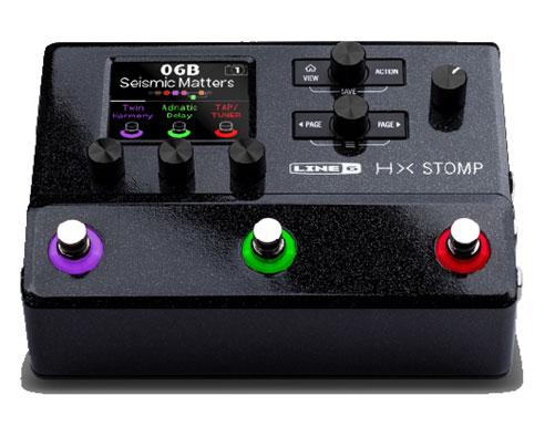 【新製品】【次回入荷11月末予定・ご予約商品】LINE6 / HX STOMP