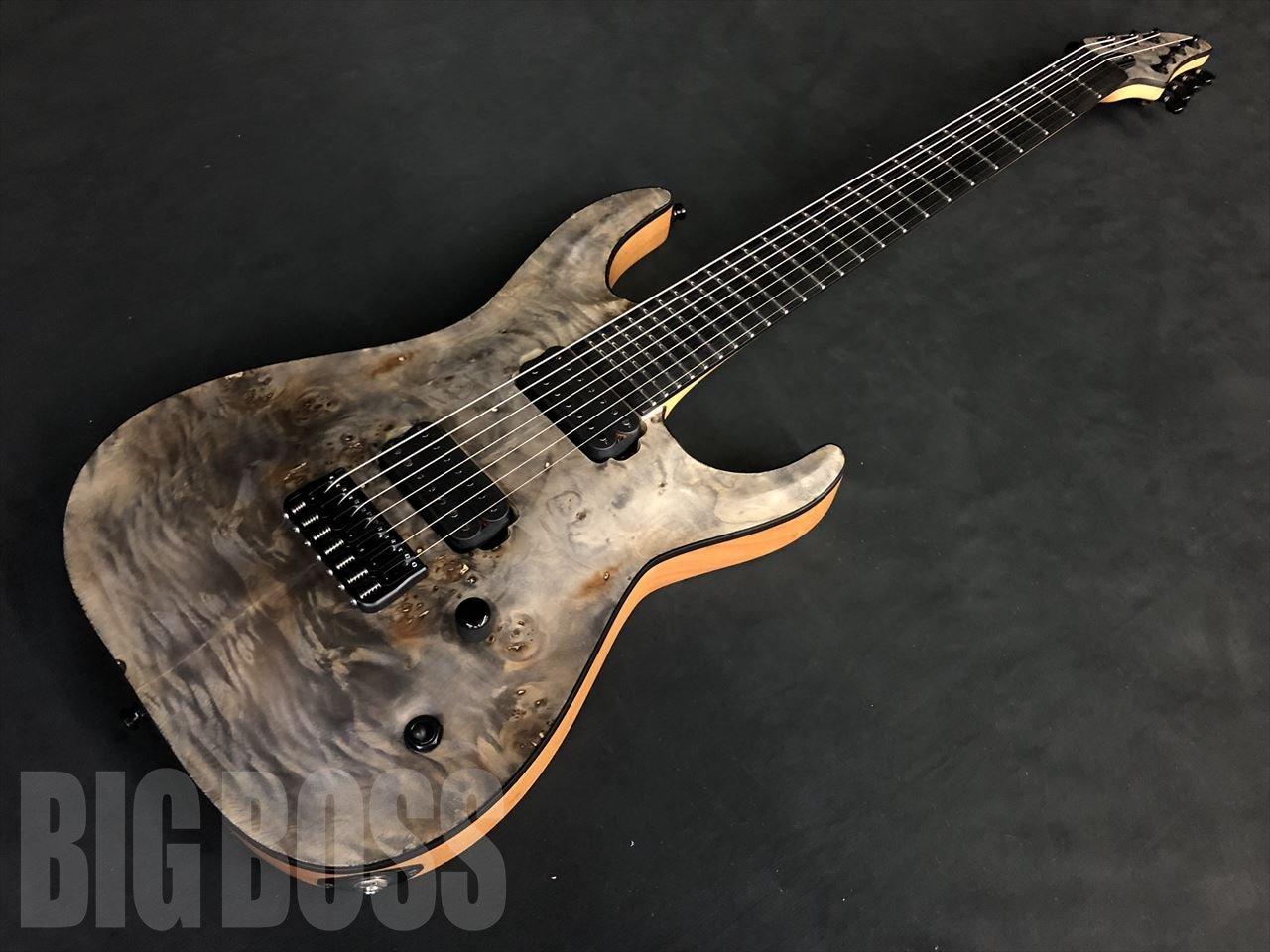 【即納可能】【新製品】EDWARDS E-HR7-FX/BM Ash Black【7弦ギター】