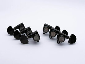 【ESP Parts】SG301-20 L3+R3 SET MG-TB Black[パーツ/ペグ/MAGNUM LOCK TRAD/マグナムロックトラッド/両連用/ブラック]
