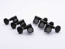 【ESP Parts】SG360-07 L3+R3 SET MG-TB Black[パーツ/ペグ/MAGNUM LOCK TRAD/マグナムロックトラッド/両連用/ブラック]