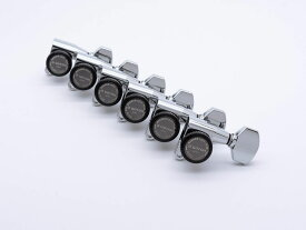 【ESP Parts】SG360-07-L MG-TB LONG SET Chrome[パーツ/ペグ/MAGNUM LOCK/マグナムロック/片連用/L側/クローム]