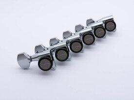 【ESP Parts】SG360-07-R MG-TB SHORT&LONG SET Chrome[パーツ/ペグ/MAGNUM LOCK TRAD/マグナムロックトラッド/片連用/R側/クローム]