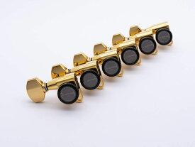 【ESP Parts】SG360-07-R MG-TB SHORT&LONG SET Gold[パーツ/ペグ/MAGNUM LOCK TRAD/マグナムロックトラッド/片連用/R側/ゴールド]