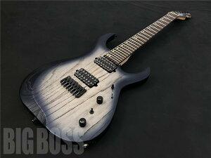【即納可能】LORE CROW LCG-002 White/Blue Pearl Burst [7弦][エレキギター][ホワイト][ロアクロウ][国産,MADE IN JAPAN] [メンテナンス無料]