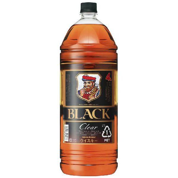 【国産ウイスキー】ブラックニッカ クリア 4000ml