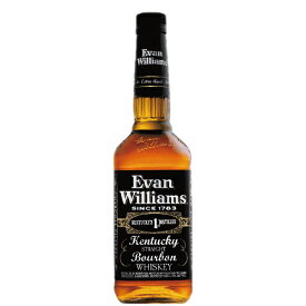 エヴァン ウィリアムス ブラックラベル 750ml 正規品【バーボン ウイスキー 洋酒】【エヴァンウィリアムズ】【エバン】