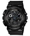 【正規品】CASIO カシオ G-SHOCK Gショック 文字板カモフラージュ メンズ腕時計 GA-100CF-1AJF