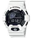 【正規品】CASIO カシオ G-SHOCK Gショック 電波ソーラー ホワイト メンズ腕時計 GW-8900A-7JF