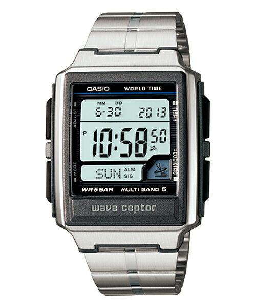 国内正規品 CASIO カシオ WAVE CEPTOR ウェーブセプター 電波時計 メンズ腕時計 WV-59DJ-1AJF