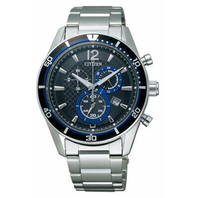 クロノグラフ CITIZEN シチズン ALTERNA オルタナ エコドライブ時計 メンズ腕時計 VO10-6741F