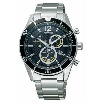 クロノグラフ CITIZEN シチズン ALTERNA オルタナ エコドライブ時計 メンズ腕時計 VO10-6742F