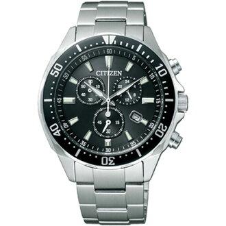 ★ CITIZEN citizen ALTERNA eco-drive watches chronograph mens watch VO10-6771F