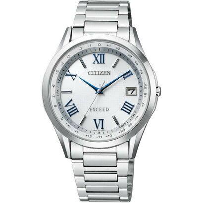CITIZEN EXCEED シチズン エクシード ワールドタイム電波時計 メンズ腕時計 CB1110-61A