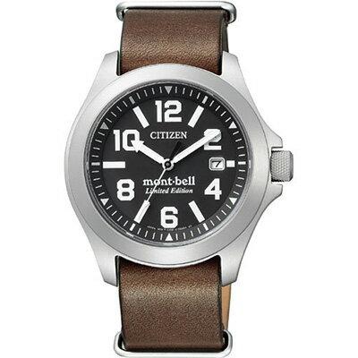 CITIZEN PRO MASTER シチズン プロマスター エコ・ドライブ プロマスター×mont・bell メンズ腕時計 BN0121-00E