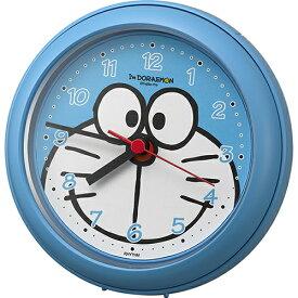 RHYTHM リズム時計 クロック 防滴 防塵 ドラえもん 掛け置き兼用時計 4KG716DR04