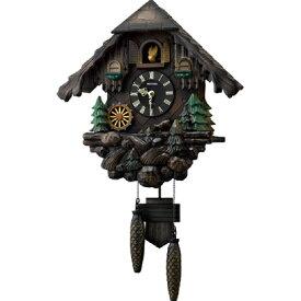 RHYTHM リズム時計 クロック 掛け時計 鳩時計 カッコークロック カッコーヴァルト 4MJ422SR06