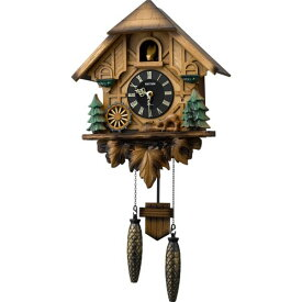 RHYTHM リズム時計 クロック 掛け時計 鳩時計 カッコークロック カッコーティンバー 4MJ423SR06