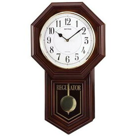 RHYTHM リズム時計 クロック 掛け時計 振り子時計 メロディ付 ベングラーR 4MJA03RH06 (4MJA03-006の新モデル)