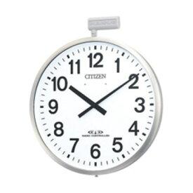 CITIZEN シチズン リズム時計 クロック 屋外用掛け時計 省エネタイプ JIS防雨型 パルウェーブM611B 4MY611-B19