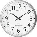 CITIZEN シチズン リズム時計 クロック 電波掛け時計 スリーウェイブM821 4MY821-019