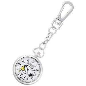 シチズン Q&Q チプシチ 懐中時計 ポケットウォッチ フック式 PEANUTS SNOOPY ピーナッツ スヌーピー P004-214