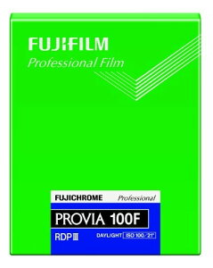 FUJIFILM リバーサルフィルム フジクローム PROVIA 100F シート 20枚 CUT PROVIA100F NP 4X5 20