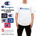 チャンピオン Tシャツ CHAMPION T-SHIRTS メンズ 大きいサイズ USAモデル リバースウィーブ ロゴ 半袖 tシャツ ヘビーウェイト レディース メール便あす楽対応