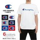 チャンピオン Tシャツ CHAMPION T-SHIRTS ロゴ メンズ 大きいサイズ champion レディース メール便あす楽対応