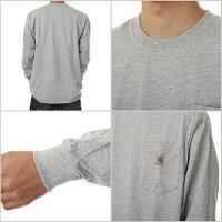 CARHARTTカーハートポケット長袖Tシャツ大きいサイズロングスリーブロンTメンズ(5色)