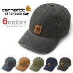 カーハートキャップCARHARTTCAPローキャップ6パネルストラップバックスナップバックUSAモデルメンズレディース帽子carharttカーハートUSALOWDAD