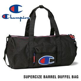 チャンピオン ボストンバッグ CHAMPION SUPERCIZE BARREL DUFFEL BAG メンズ レディース USAモデル ビッグロゴ