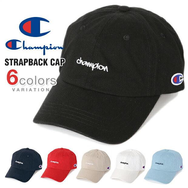 チャンピオン キャップ ローキャップ メンズ レディース CHAMPION 帽子 ロークラウン LOW CAP GOLF ゴルフ ストラップバック STRAPBACK DAD DAD