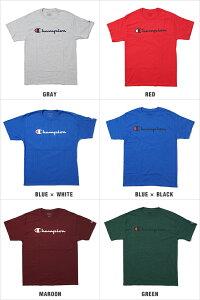 チャンピオンTシャツCHAMPIONT-SHIRTSメンズ大きいサイズUSAモデルchampiont-shirtsロゴ半袖tシャツあす楽