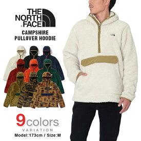 ノースフェイス フリース パーカー ジャケット メンズ THE NORTH FACE CAMPSHIRE PULLOVER HOODIE USモデル 大きいサイズ