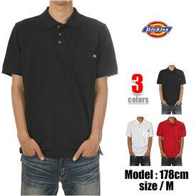 ディッキーズ ポロシャツ DICKIES POLO SHIRTS USAモデル メンズ ポケット付き ワンポイントロゴ 大きいサイズ