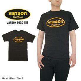 【2枚までメール便送料200円】バンソン Tシャツ バンソン OVAL TEE メンズ 大きいサイズ ロゴ
