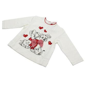 蒙纳丽莎 (蒙娜丽莎) 婴儿 T 恤 638603SK-8000-0001 白色系统