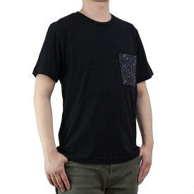 バーク Bark メンズ 半袖 Tシャツ 71B8703 261 BLACK ブラック メンズ ティーシャツ【キャッシュレス 5% 還元】