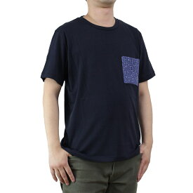 バーク Bark メンズ 半袖 Tシャツ 71B8703 254 NAVY ネイビー系 メンズ ティーシャツ【キャッシュレス 5% 還元】
