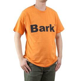 バーク Bark メンズ クルーネック 半袖 ロゴ Tシャツ 71B8715 258 ORANGE メンズ ティーシャツ【キャッシュレス 5% 還元】